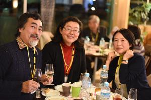 月山ワイン講座パーティ参加者
